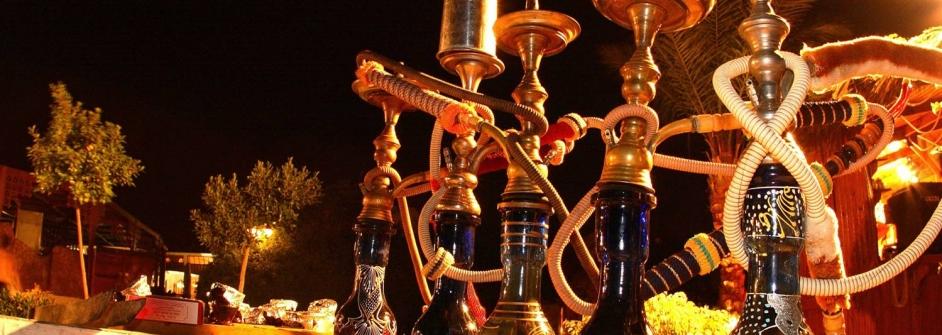Dahab noche cachimbas