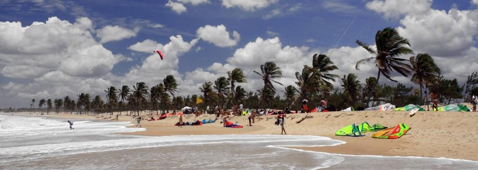 Cumbuco kitesurf playa