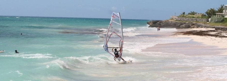 Barbados windsurf
