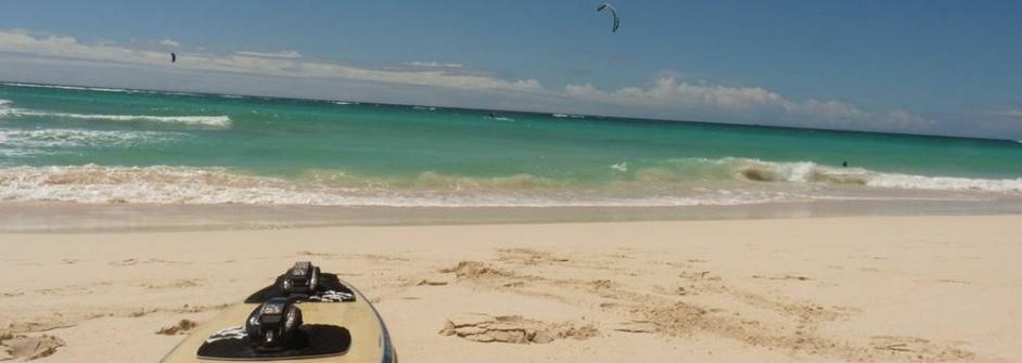 Barbados kitesurf