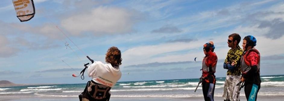 Lanzarote kitesurf